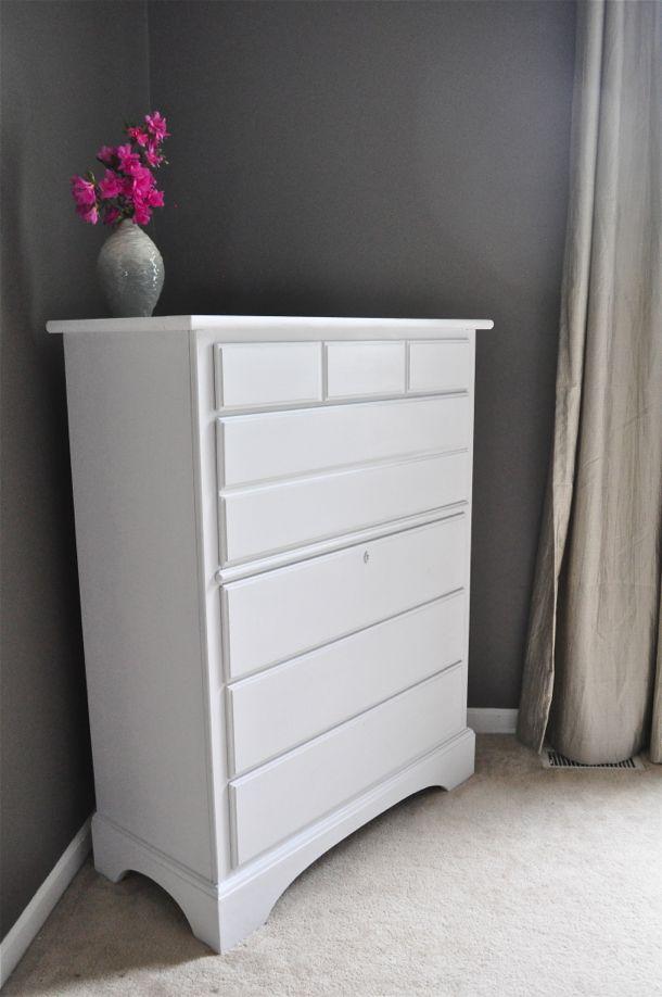 DIY Chalk Paint Dresser
