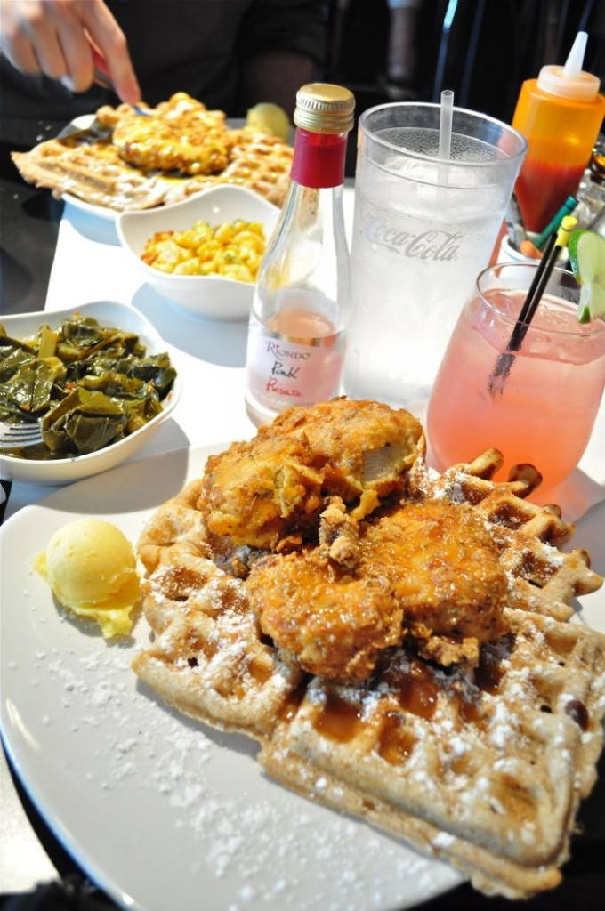 Dame's Chicken and Waffles