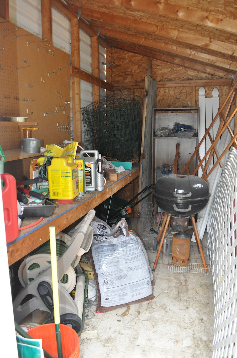 Messy Shed