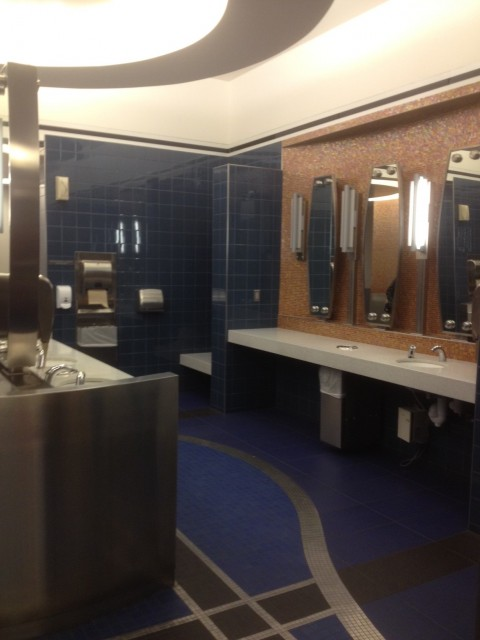 Denver Airport Bathroom