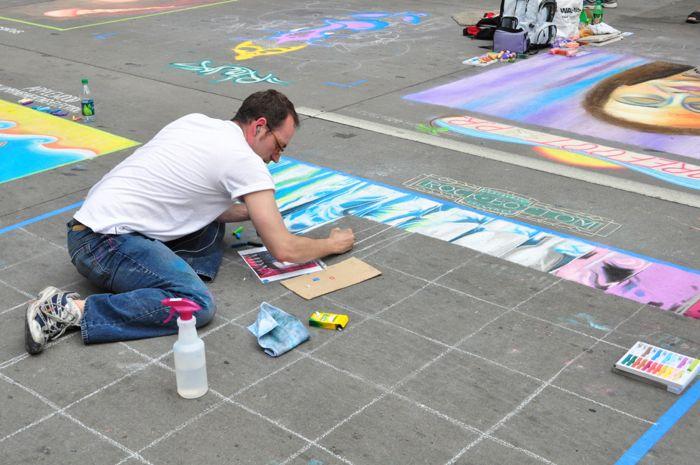 Denver Chalk Art Festival 2012
