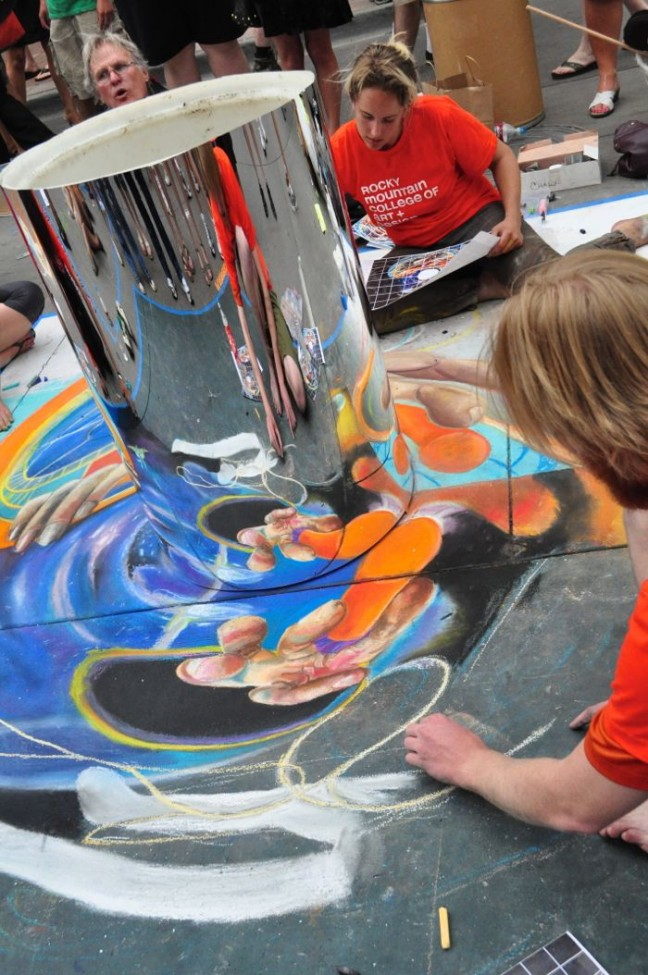 Denver Chalk Art Festival 2012