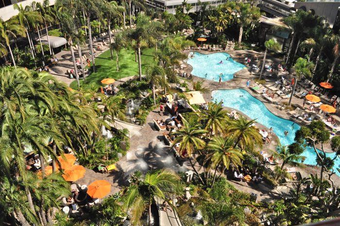 View From Mariott Marquis & Marina Balcony San Diego