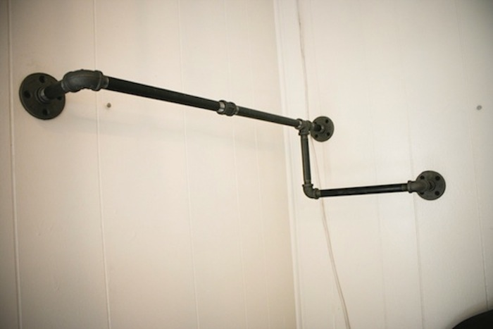 Industrial Piping Closet On Pinterest Garment Racks