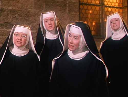 Sound of Music Nuns Marni Nixon Second from left