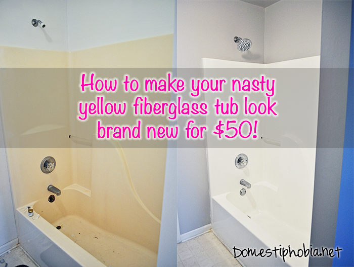 How to Refinish Your Bathtub for $50