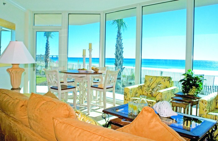 Gorgeous beach-front property on Florida's Emerald Coast! (Photo courtesy of Wyndham Vacation Rentals.)