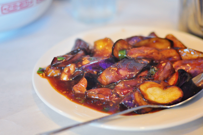 Sweet garlic eggplant dish - INCREDIBLE!