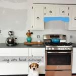 Kitchen Progress: Hidden Hood and Beadboard Band-Aids.