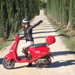 A White-Knuckled Vespa Tour Of Chianti In Tuscany.