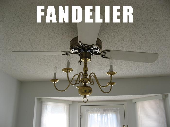 Fandelier